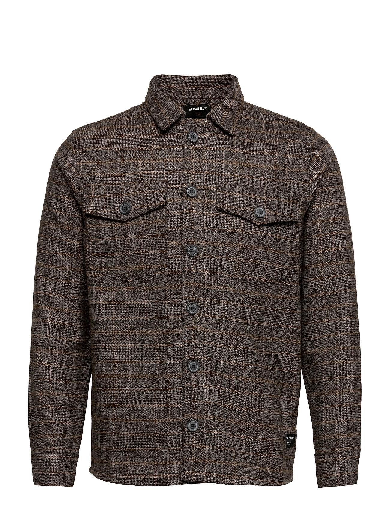 Image of Clipper Piccolo Check Shirt Skjorte Casual Brun Gabba (3552280407)