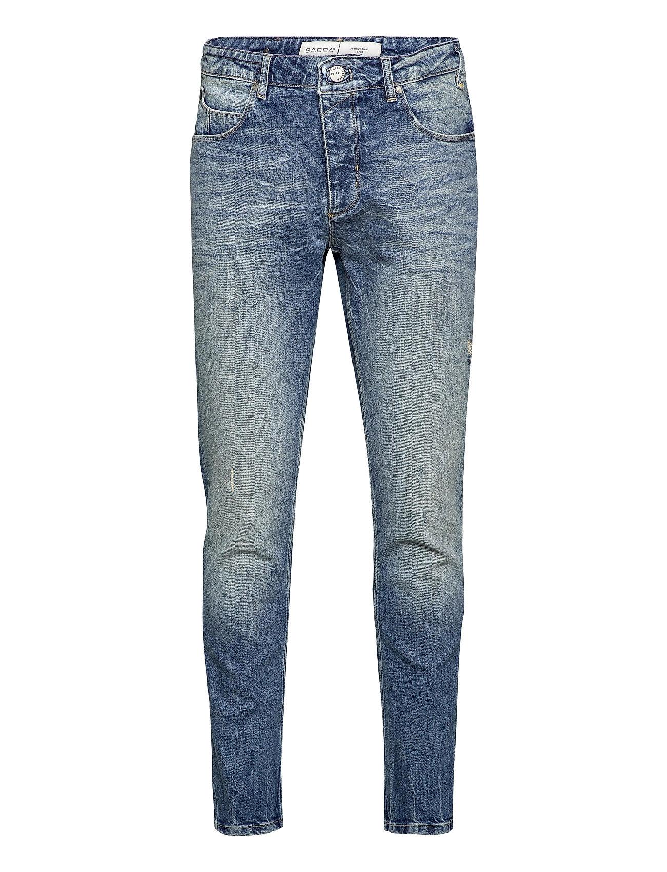 Image of Rey K3830 Jeans Slim Jeans Blå Gabba (3496015117)