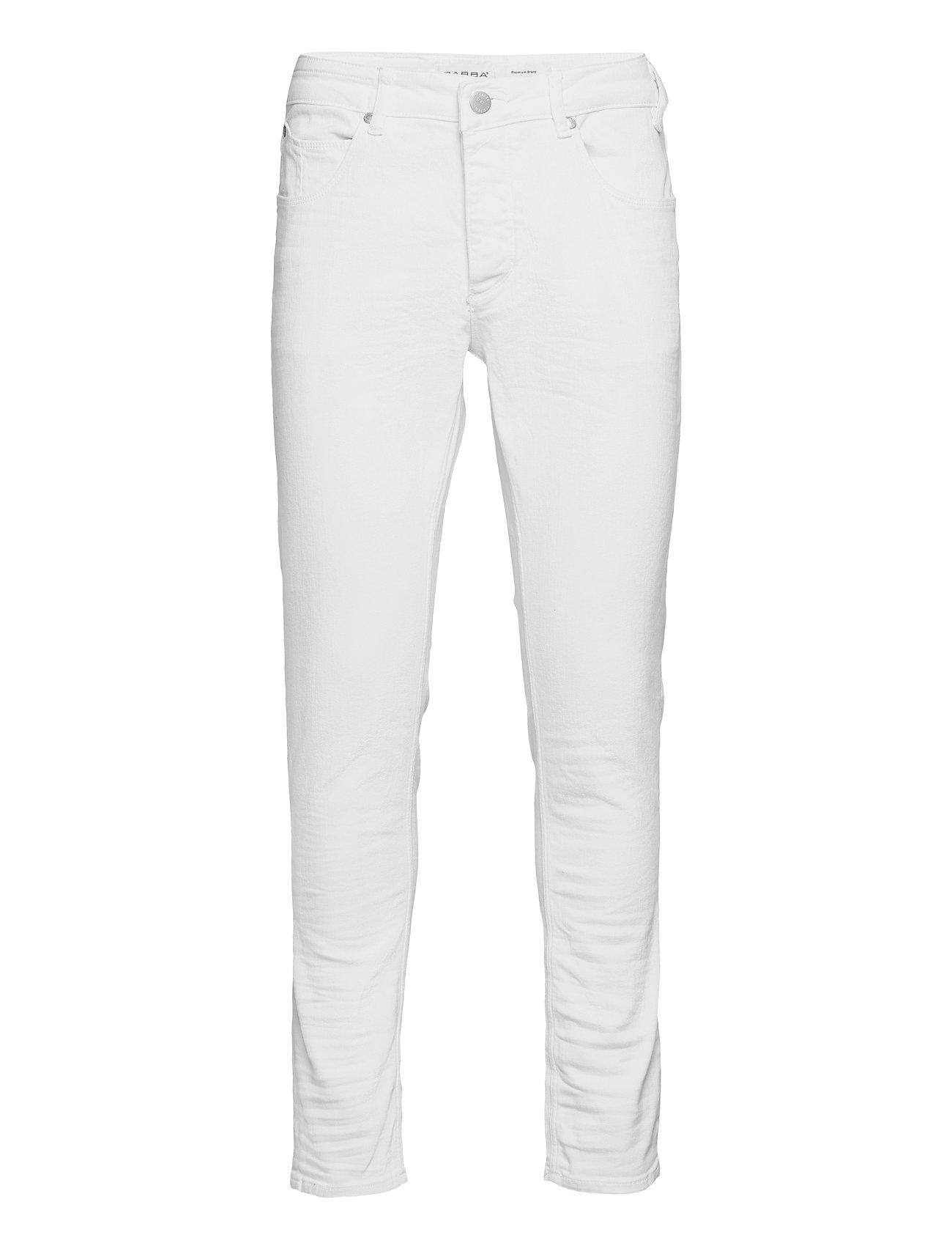Image of Rey K2671 Jeans Slim Jeans Hvid Gabba (3498386937)