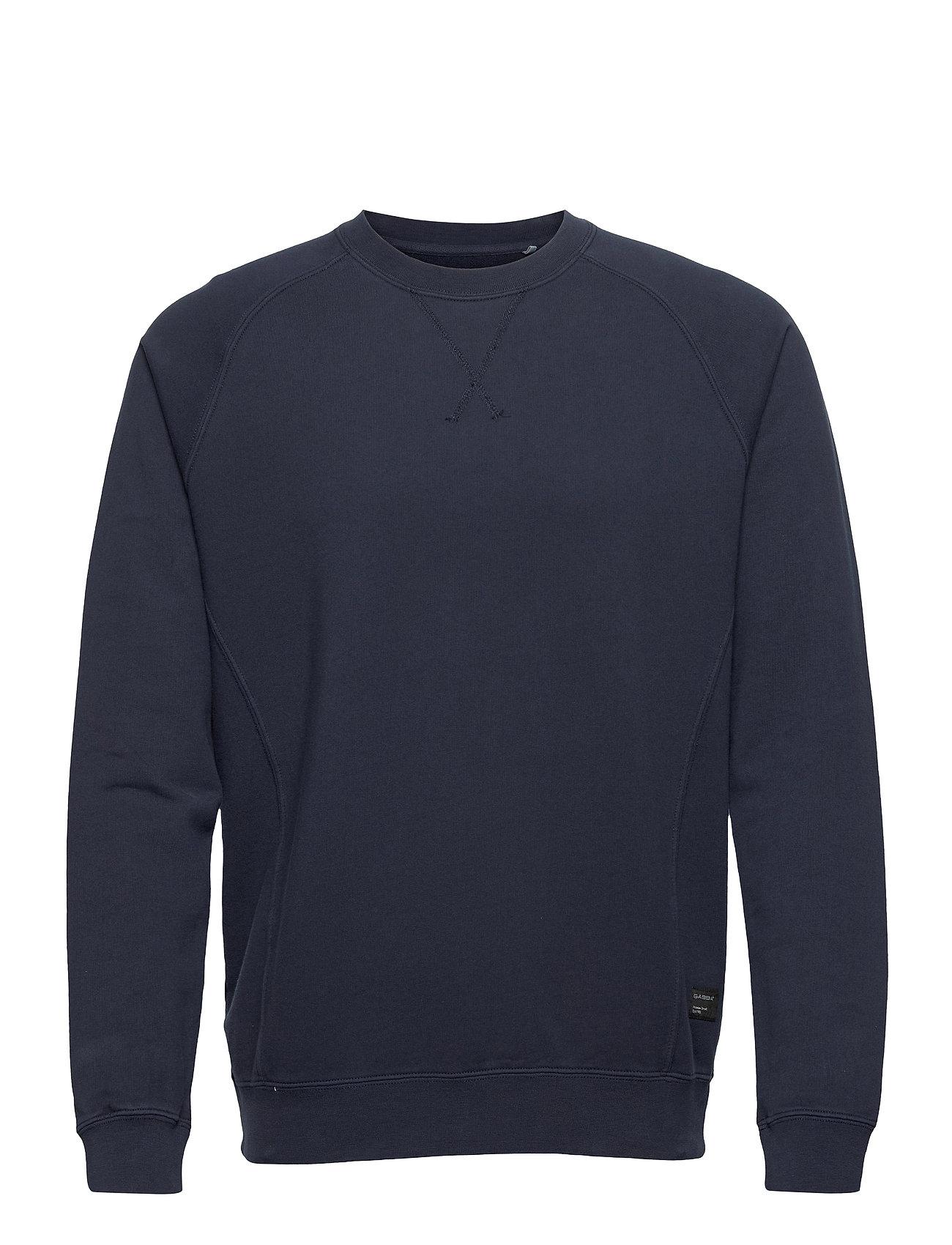 Image of Nine Crew Neck Sweat Sweatshirt Trøje Blå Gabba (3501119541)