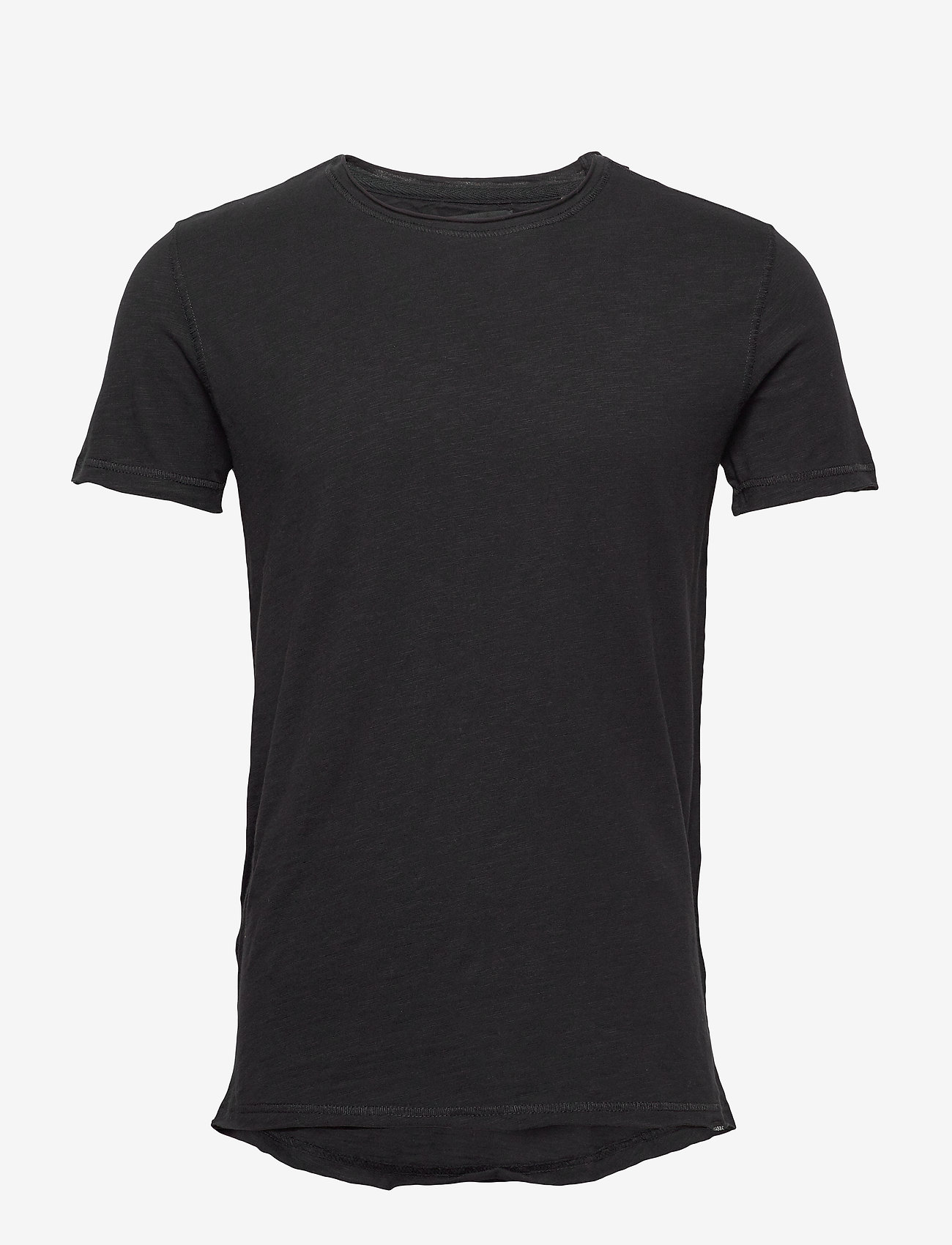 Gabba - Konrad Slub S/S Tee - basic t-shirts - black - 0