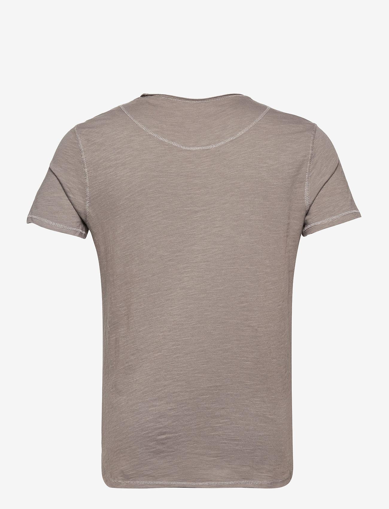 Gabba - Konrad Slub S/S Tee - basic t-shirts - grey - 1