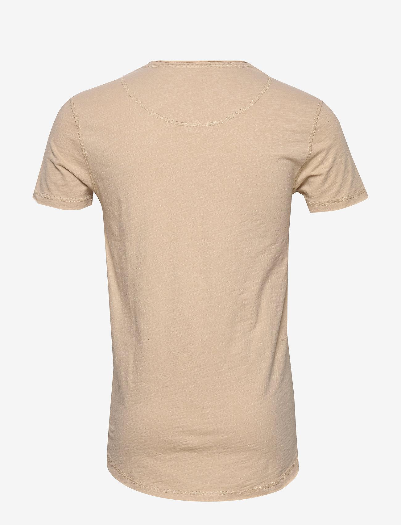 Gabba - Konrad Slub S/S Tee - basic t-shirts - humus - 1