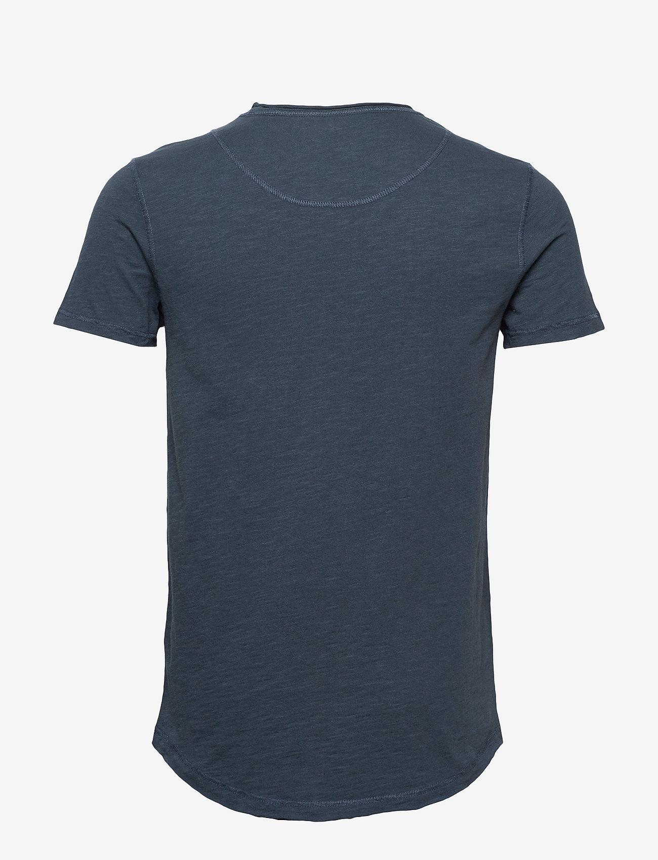 Gabba Konrad Slub S/S Tee - T-skjorter NAVY - Menn Klær