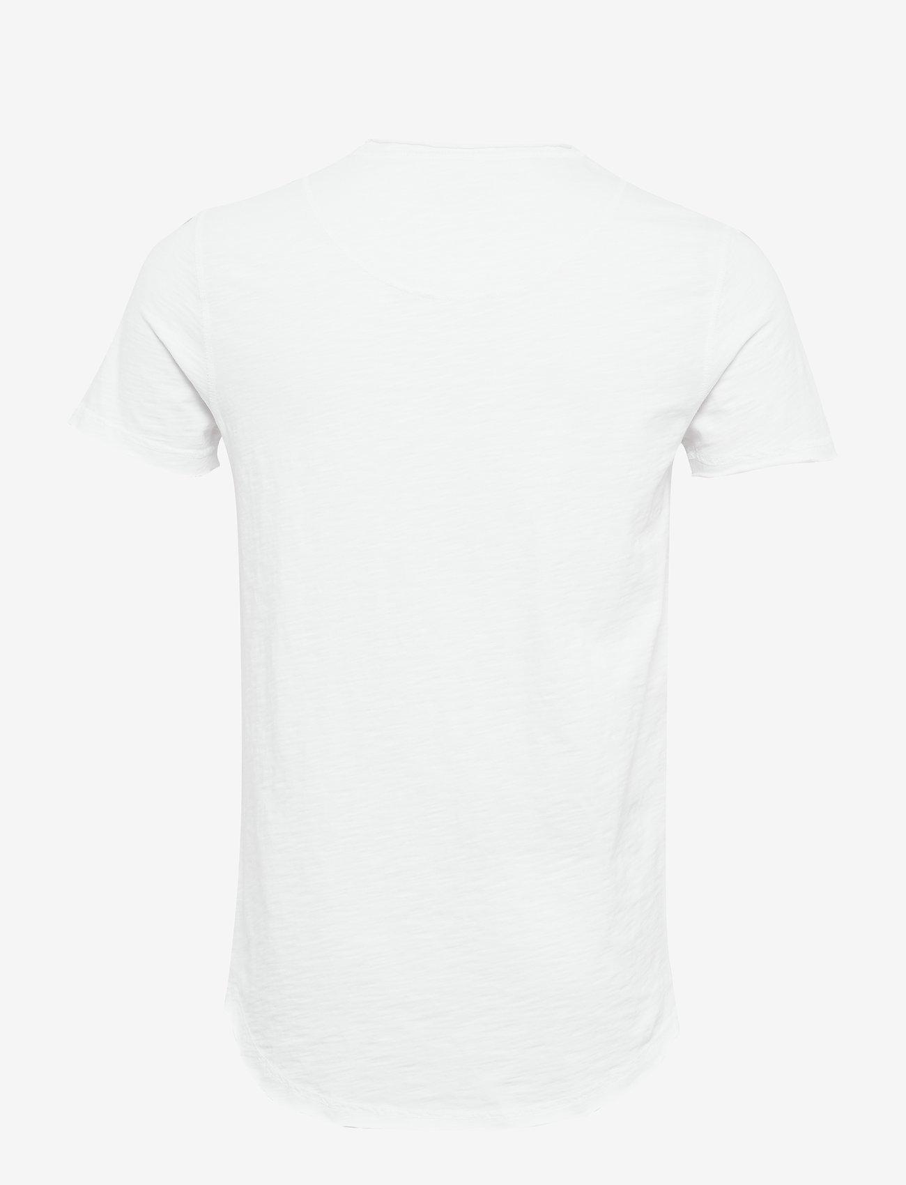 Gabba - Konrad Slub S/S Tee - basic t-shirts - white - 1