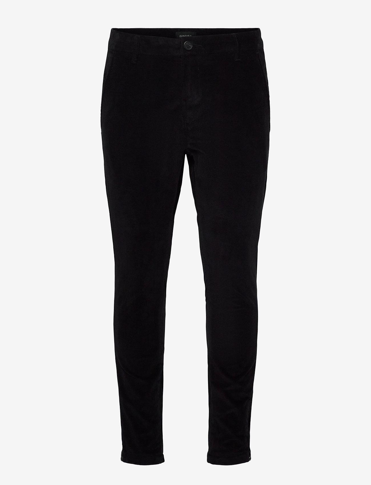 Gabba - Pisa Cord Pants - chinos - black - 0