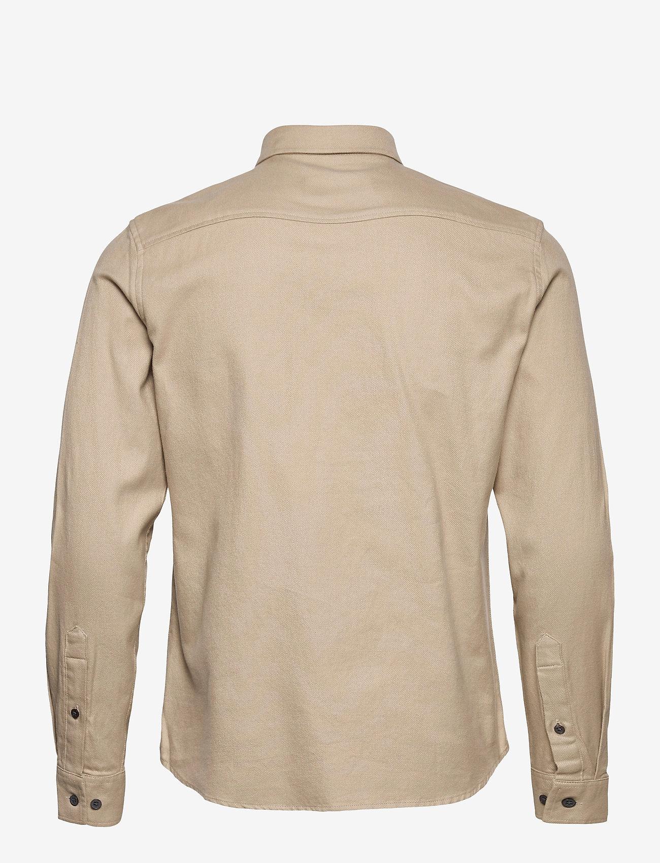 Gabba - Harbin LS Shirt - basic skjorter - humus - 1