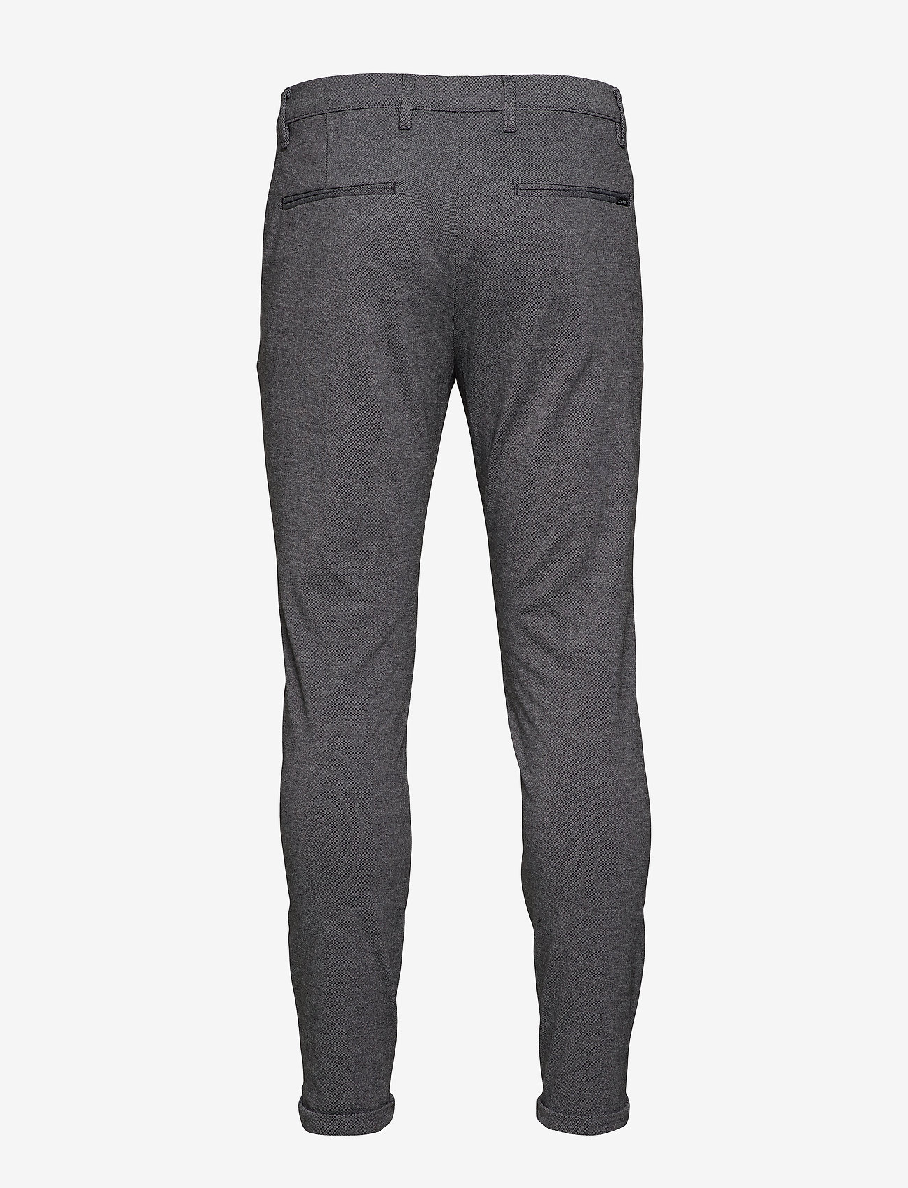 Gabba - Pisa Jersey Pant - chinos - lt grey mel - 1