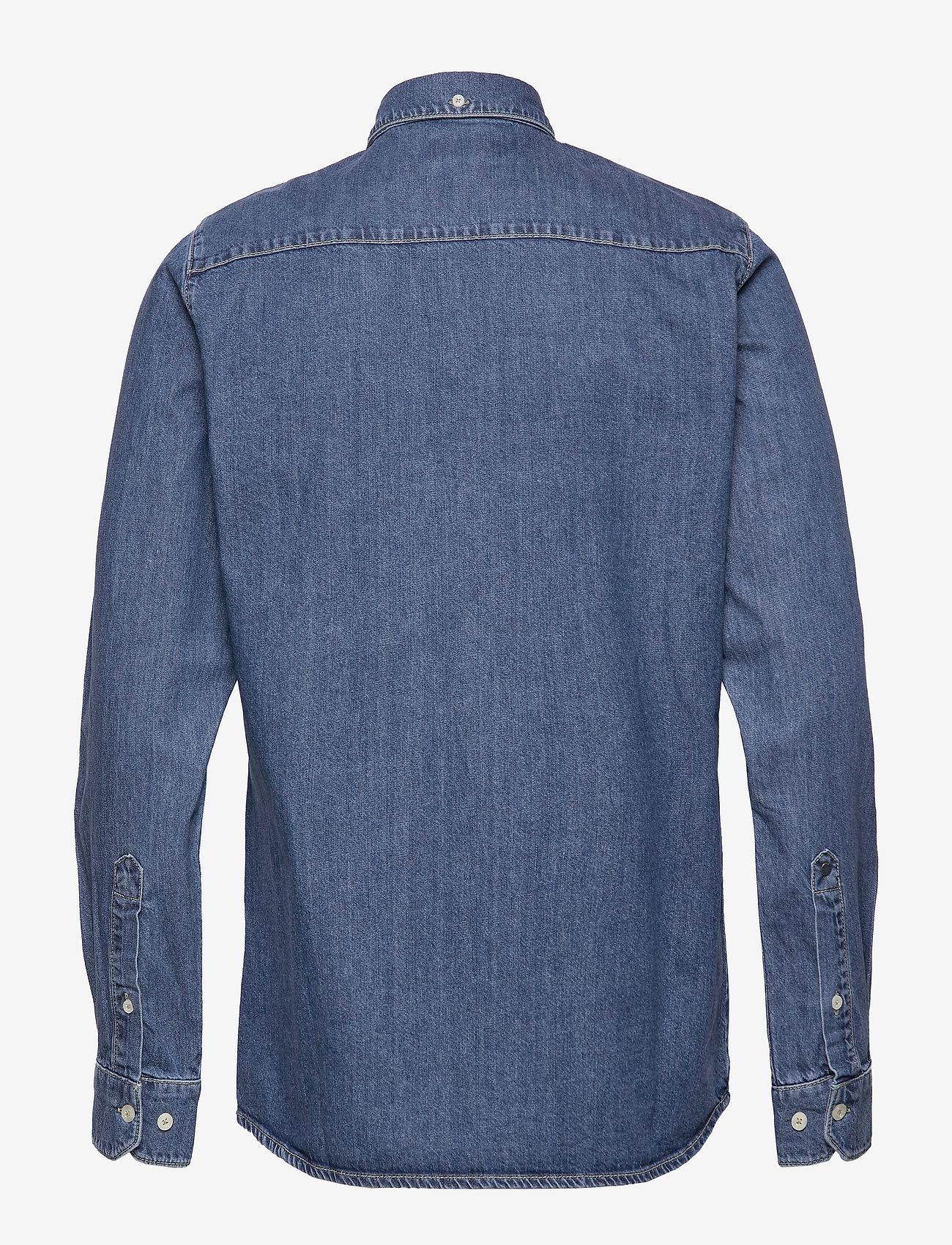Gabba - Ranger Denim Shirt - basic skjorter - denim blue - 1