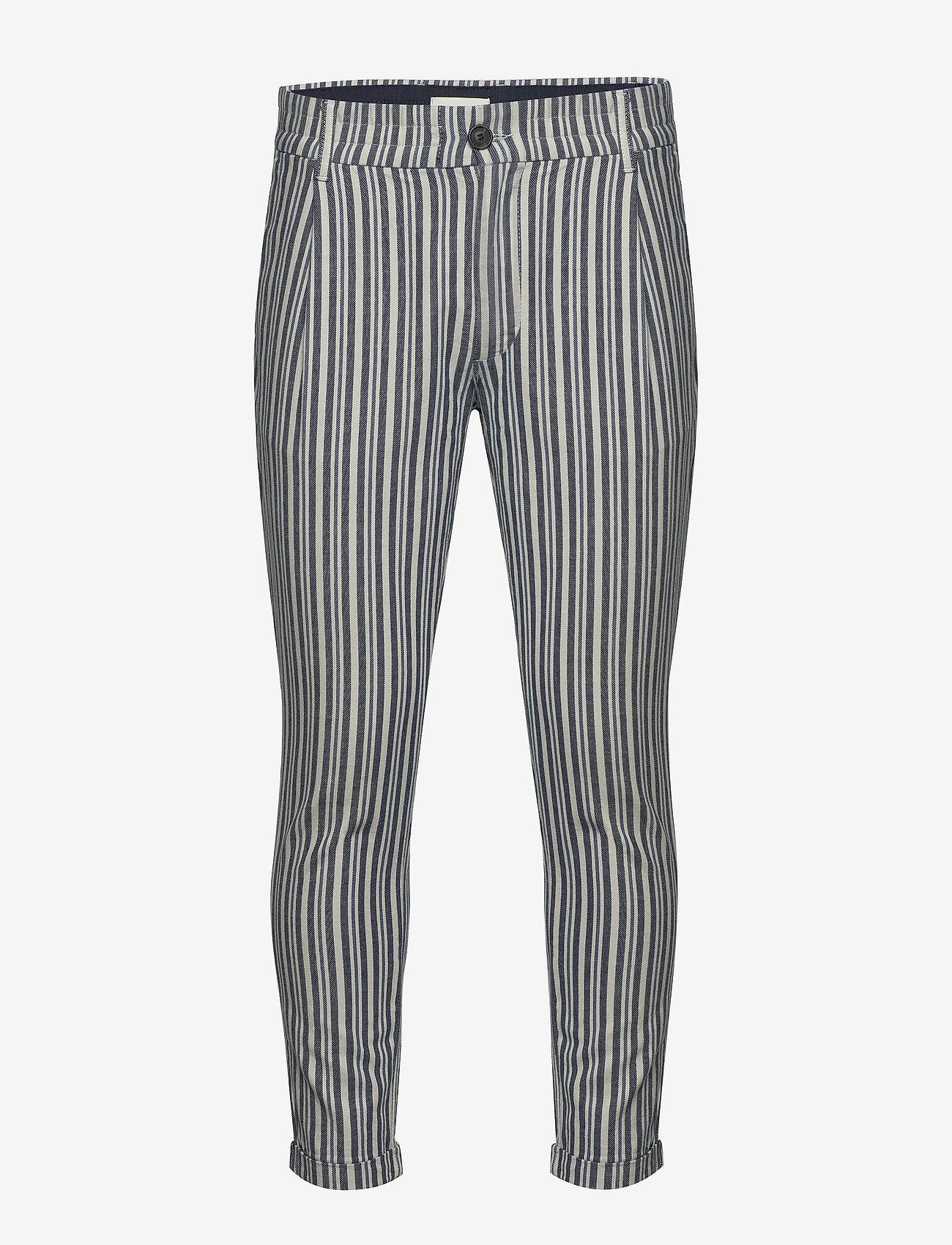 Gabba - Bryce DY Stripe Pants - casual - blue stripe - 0