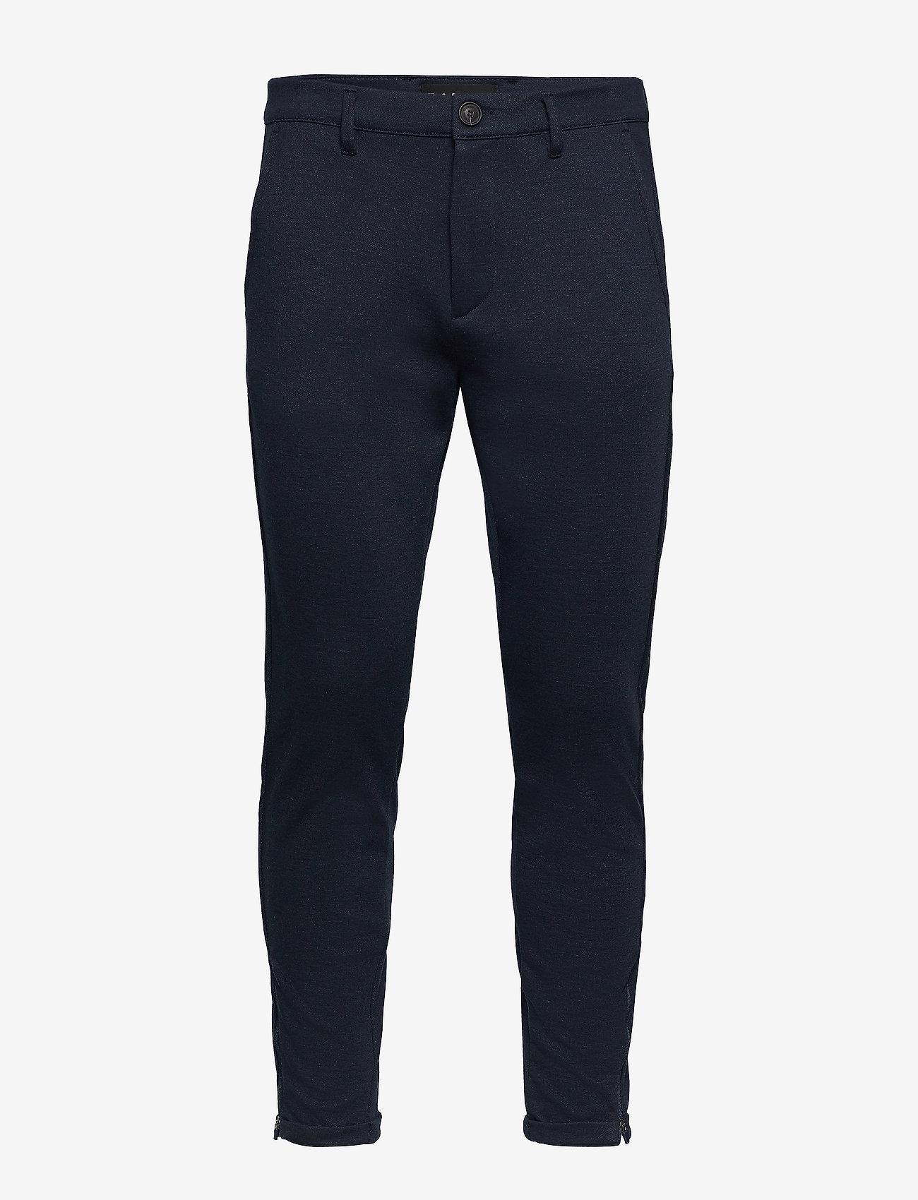 Gabba - Pisa Jersey Pant - chinos - navy - 0