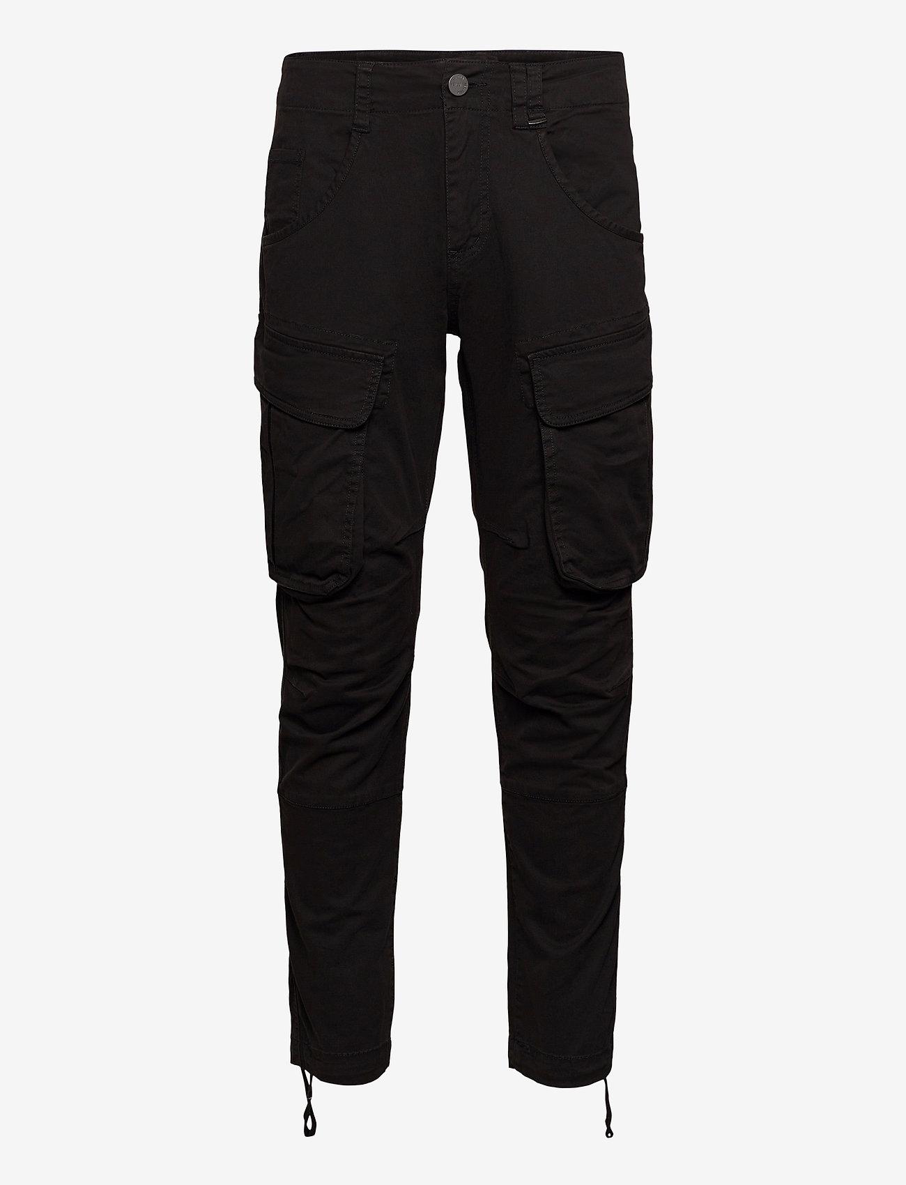 Gabba - Rufo Cargo Pants - cargobukser - black - 0
