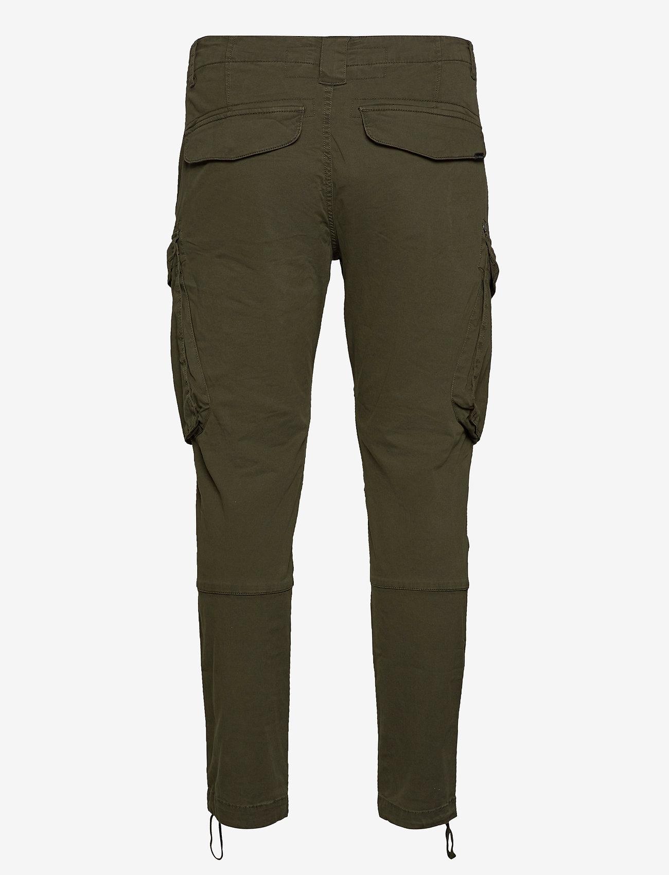 Gabba - Rufo Cargo Pants - cargobukser - grape leaf army - 1