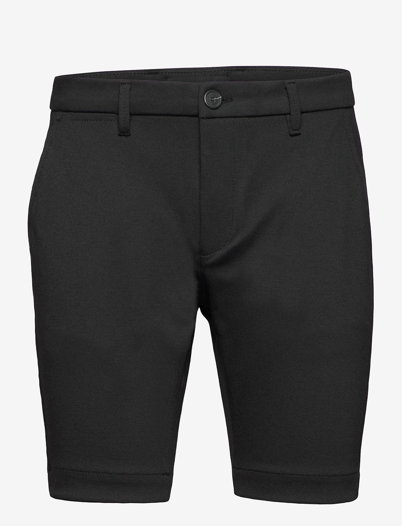 Gabba - Jason Chino Jersey Shorts - casual shorts - black - 0