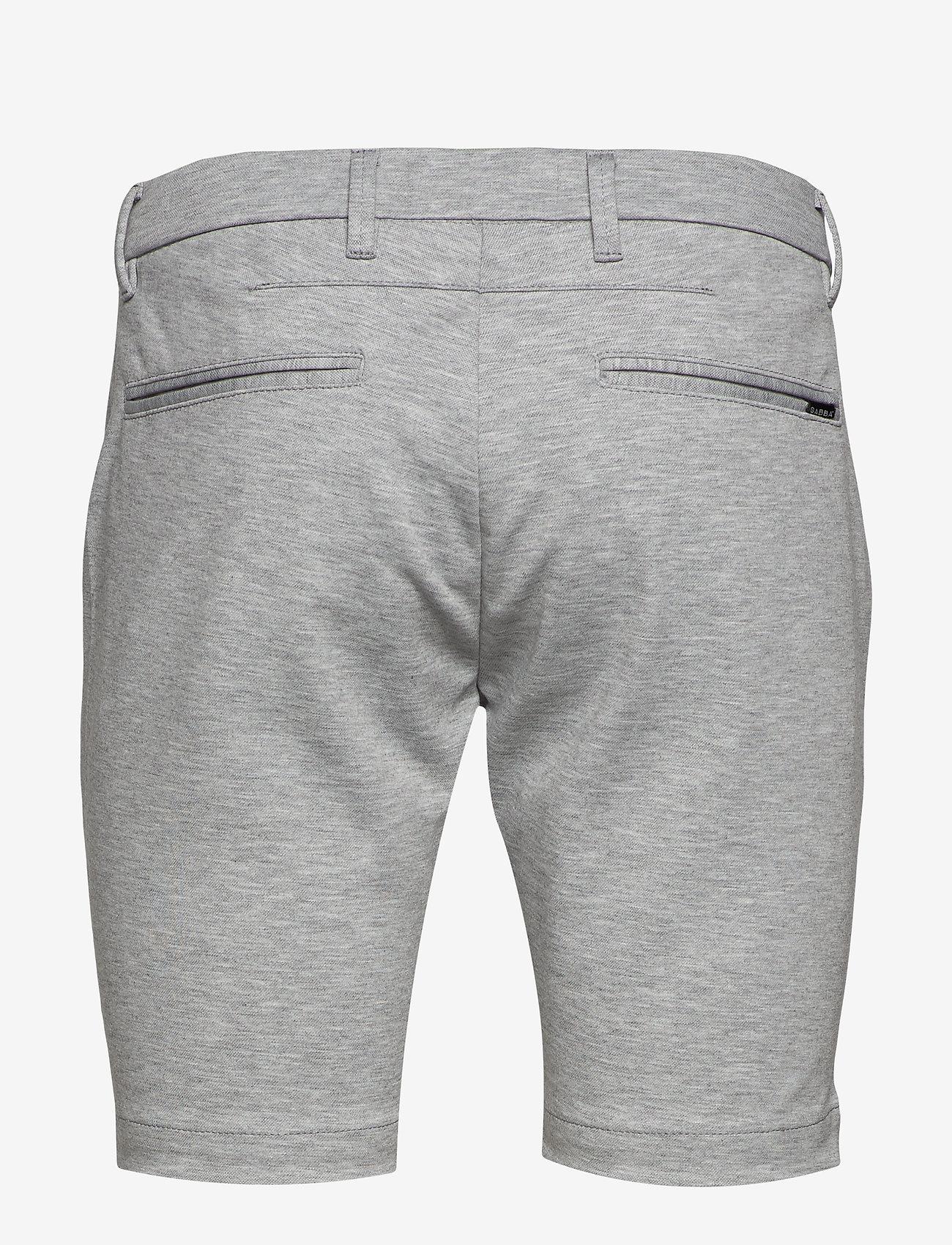 Gabba - Jason Chino Jersey Shorts - casual shorts - lt. grey - 1