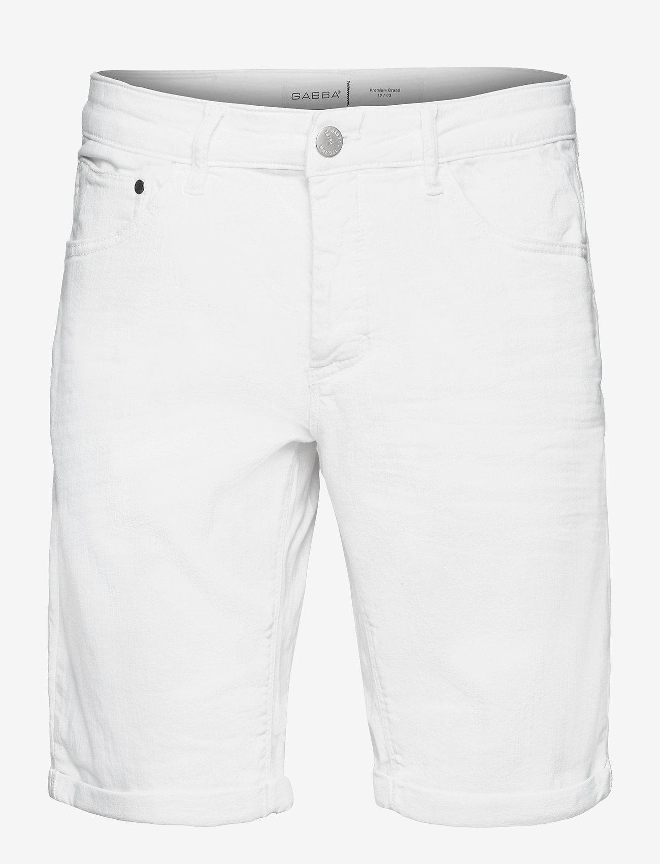 Gabba - Jason K2666 Shorts - denim shorts - white - 0