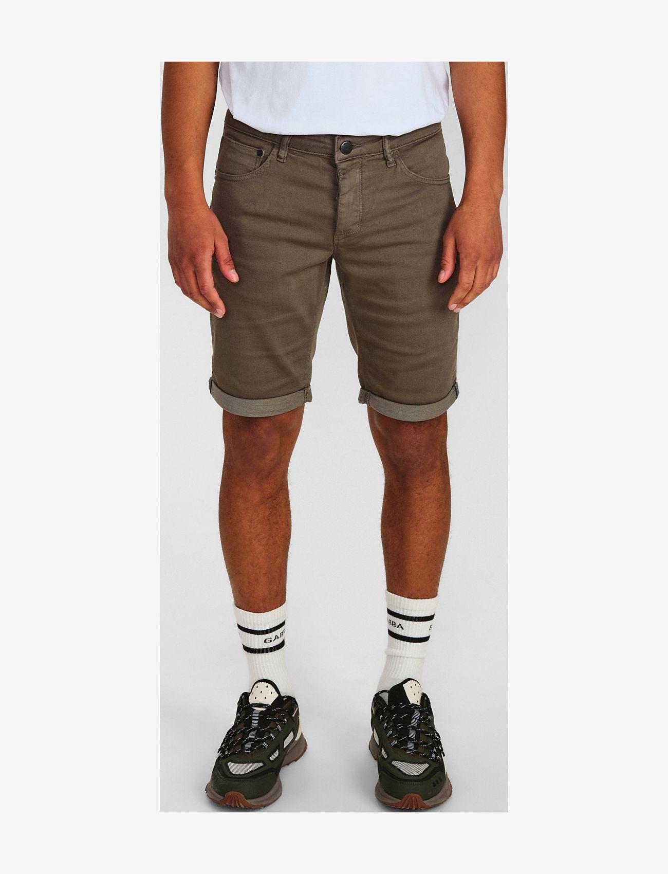 Gabba - Jason K3280 Dale Shorts - chinos shorts - army - 1