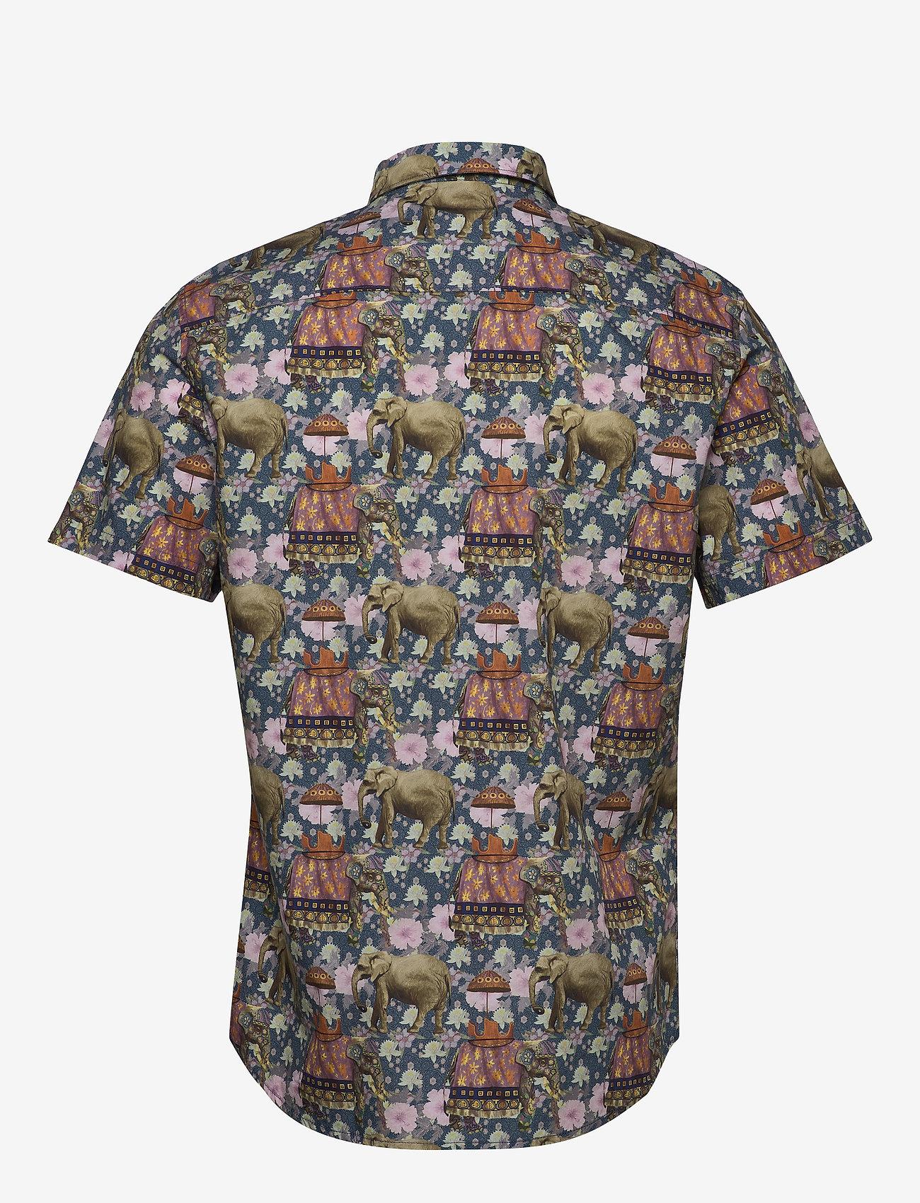 Gabba - Rocha SS Shirt - kortærmede skjorter - mixed colours - 1
