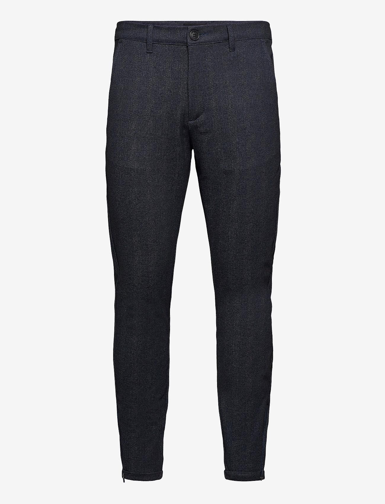 Gabba - Pisa KD3920 Quad Pant - casual - blue check - 0
