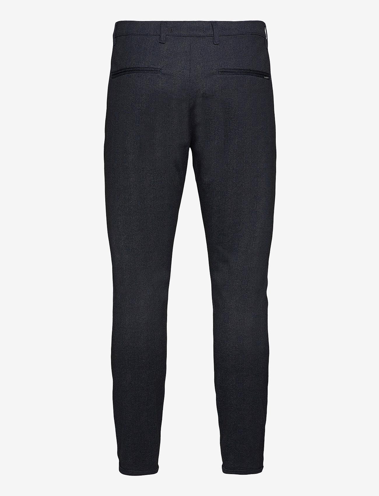 Gabba - Pisa KD3920 Quad Pant - casual - blue check - 1