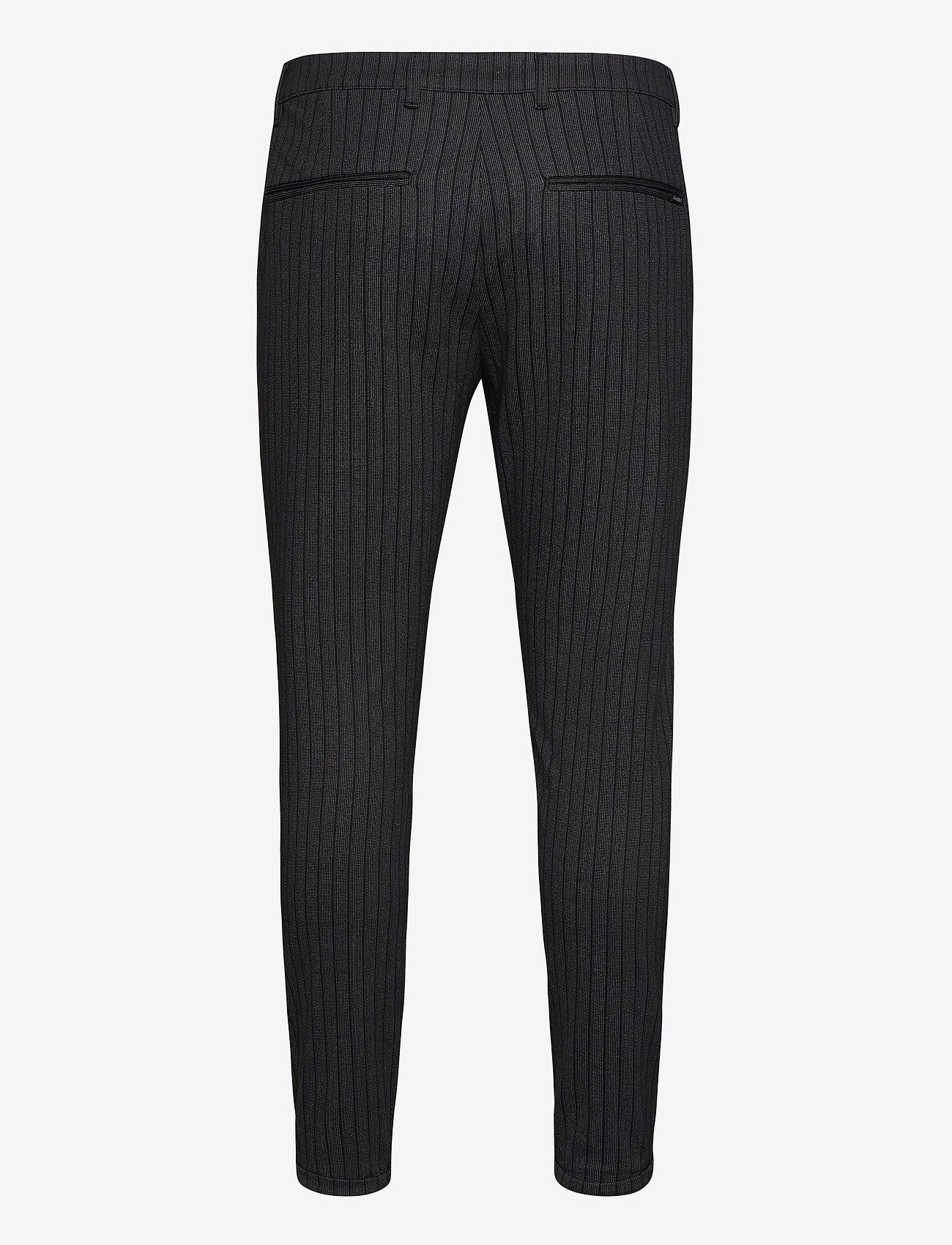 Gabba - Pisa KD3920 Lines Pant - casual - black stripe - 1