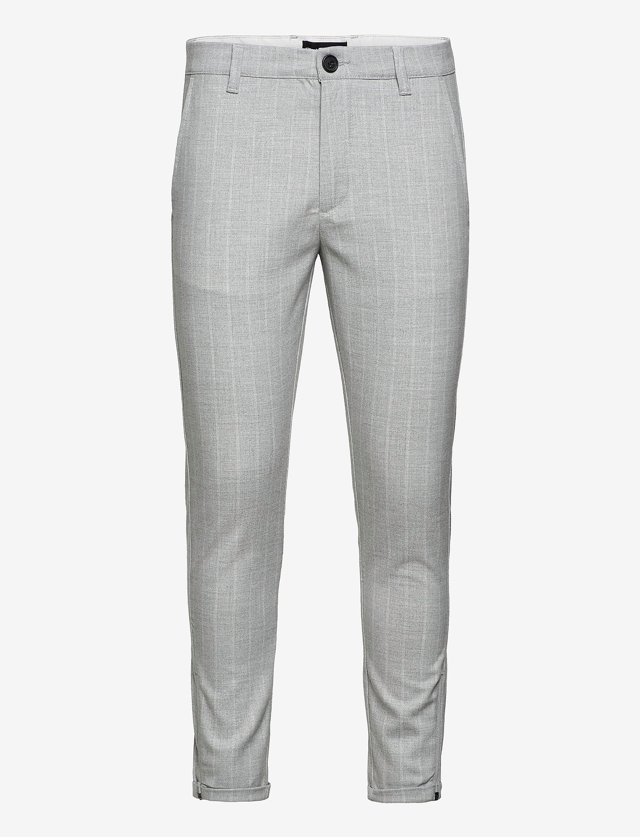 Gabba - Pisa Peli Stripe Pant - suitbukser - pelican - 0