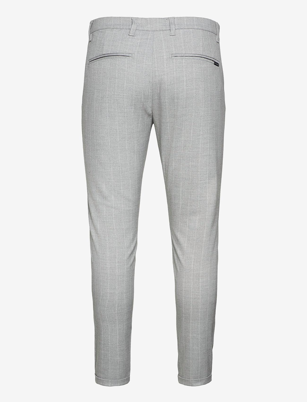 Gabba - Pisa Peli Stripe Pant - suitbukser - pelican - 1
