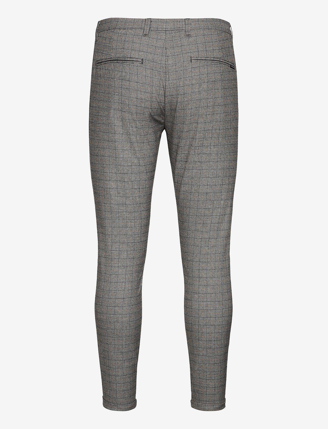 Gabba - Pisa Day Pant - casual - beige check - 1