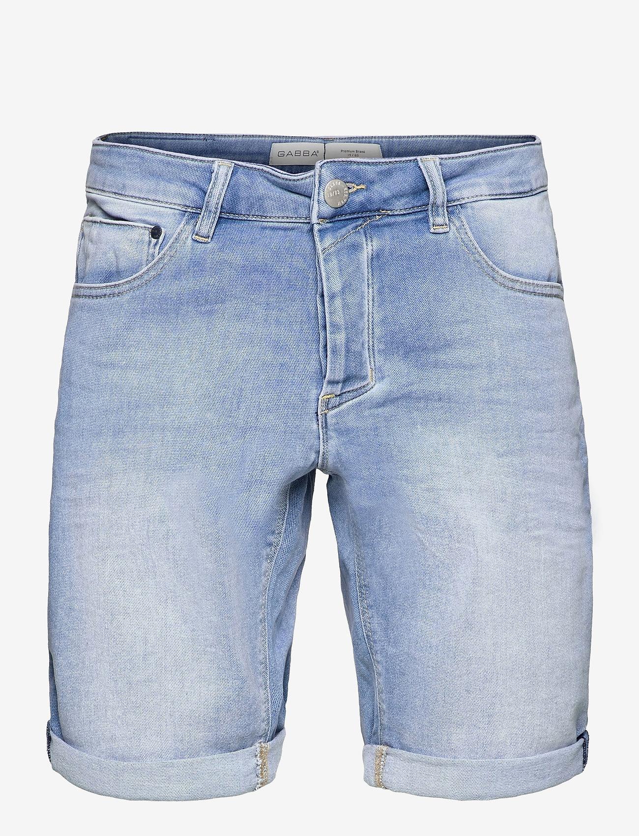Gabba - Jason Shorts K3787 - denim shorts - rs1149 - 0