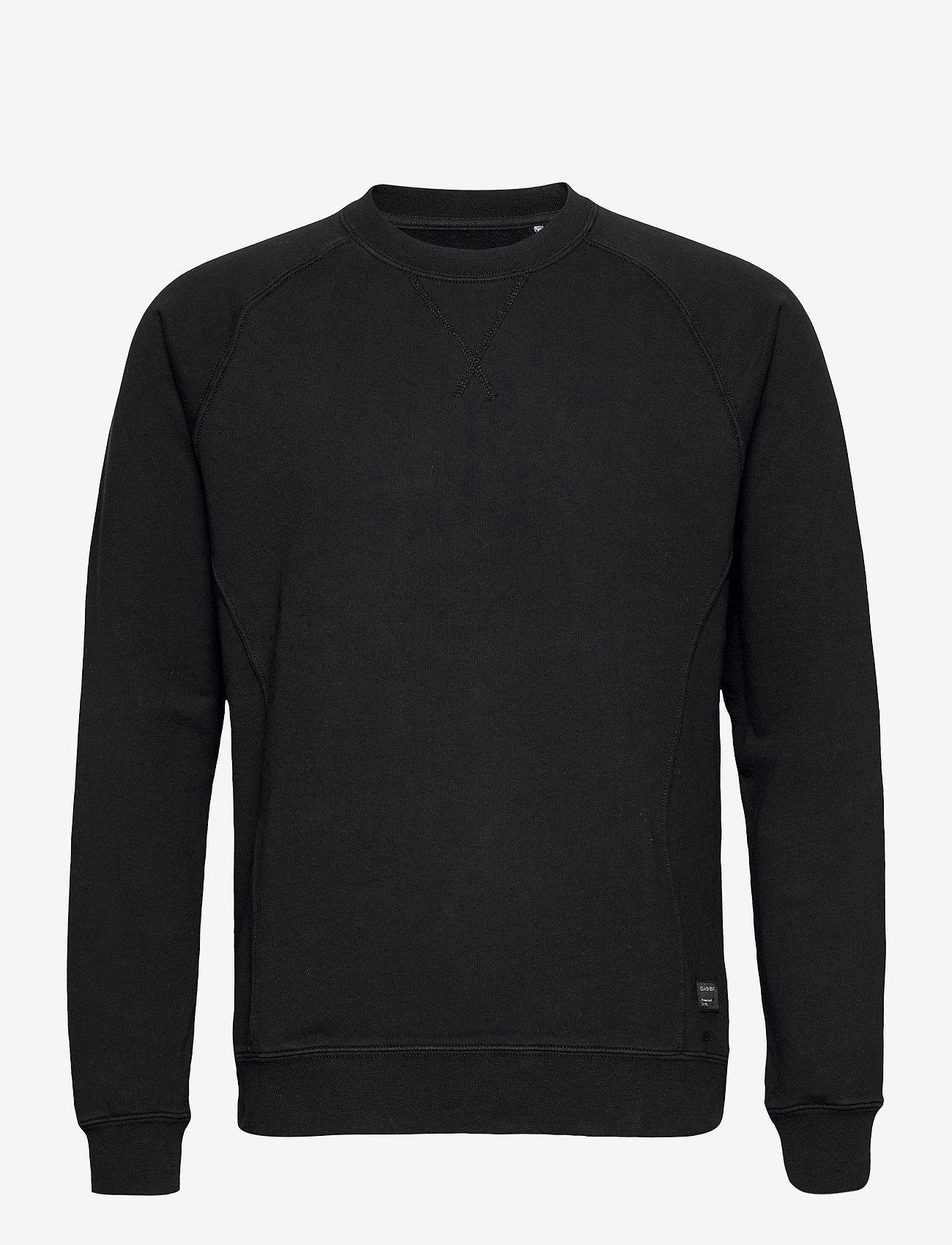 Gabba - Nine Crew Neck Sweat - basic sweatshirts - black - 0