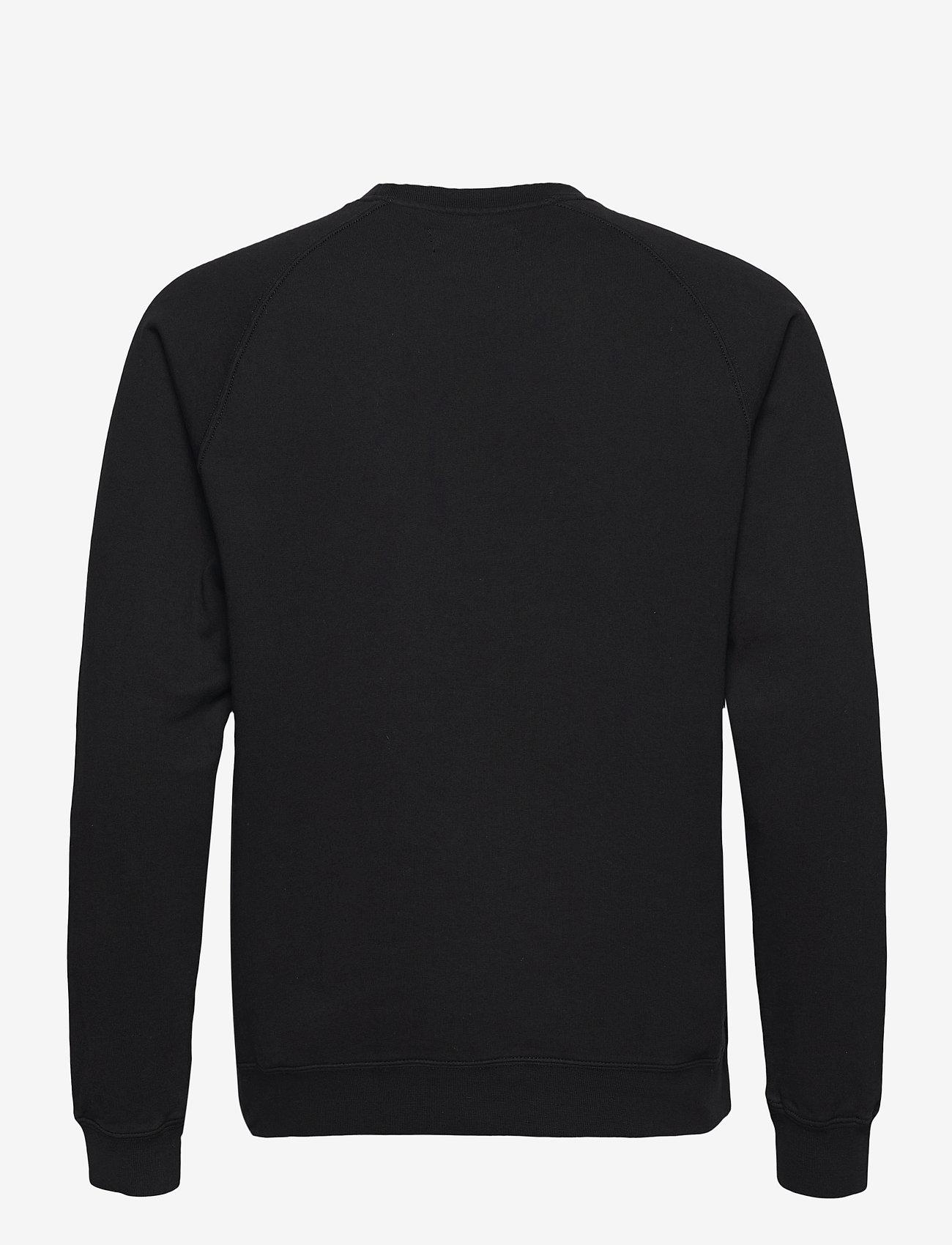 Gabba - Nine Crew Neck Sweat - basic sweatshirts - black - 1