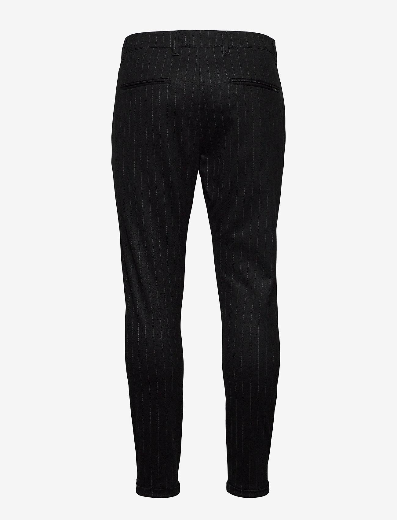 Gabba - Pisa KD3920 Black Pin Pant - suitbukser - black pin - 1