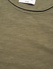 Gabba - Konrad Slub S/S Tee - basic t-shirts - army - 2
