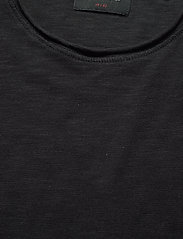 Gabba - Konrad Slub S/S Tee - basic t-shirts - black - 2