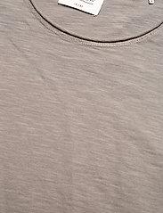 Gabba - Konrad Slub S/S Tee - basic t-shirts - grey - 2