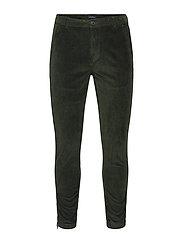Pisa Cord Pants - DK. GREEN