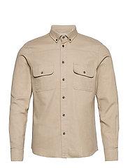 Harbin LS Shirt - HUMUS