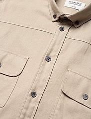 Gabba - Harbin LS Shirt - basic skjorter - humus - 3