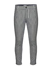 Bryce DY Stripe Pants - BLUE STRIPE