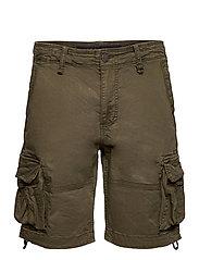 Rufo Cargo Shorts - ARMY