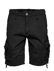 Rufo Cargo Shorts - BLACK