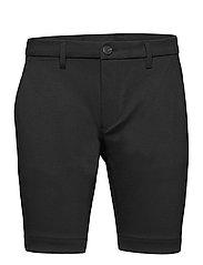 Jason Chino Jersey Shorts - BLACK