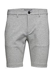 Jason Chino Jersey Shorts - LT. GREY