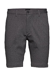 Jason Chino Jersey Shorts - LT GREY MEL