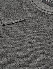Gabba - Liam Linen Knit - basic strik - dk. grey mel - 2