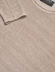 Gabba - Liam Linen Knit - basic strik - lt. sand - 2