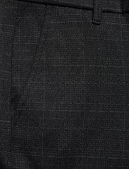 Gabba - Pisa KD3920 Black Shadow Check Pant - chinos - black check - 2