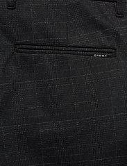 Gabba - Pisa KD3920 Black Shadow Check Pant - chinos - black check - 4