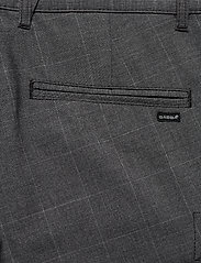 Gabba - Pisa Cargo Grey Check Pant - cargobukser - grey check - 4
