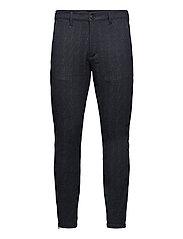 Pisa KD3920 Quad Pant - BLUE CHECK